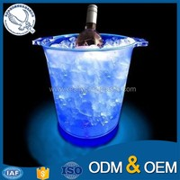 Custom design high quality plastic ice bucket