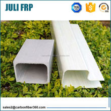 insulating FRP cross arm fiberglass 100*100mm square tubes