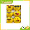 Wholesale can be custom print, Novelty Emoji Practice Golf Balls, Kids Funny Gifts or Outdoor Activities Playing Toys 12 pack.
