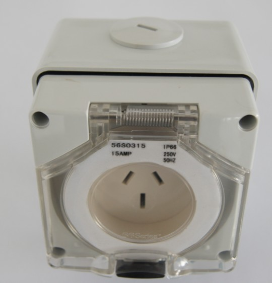industrial surface socket switched surface mounting socket outlet