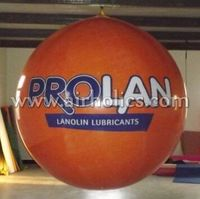 Large inflatable helium balloon for advertisment to sale