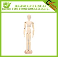 Customized Logo Promotional Mini Wooden Mannequin