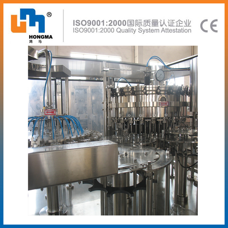 SUS304/316 China manufacter pricecarbonated drink aluminum can filling machine