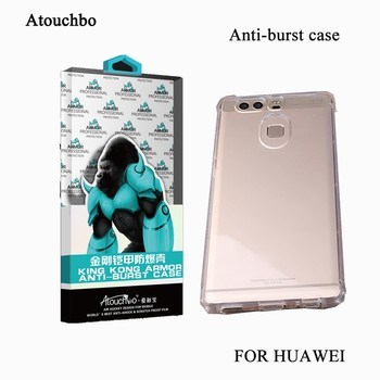 Atouchbo Best Selling Shockproof Beautiful Design Mobile Phone Back Cover For HUAWEI P9
