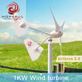 hot sale ISO9001 high quality 1kw wind turbine factory