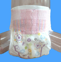 China pink wholesale disposable diapers