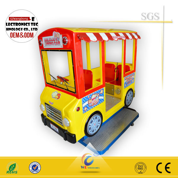 WD-A19 hot coin operated child ride car or BUS big kiddie ride sale NEWEST bussiness way