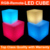 Wholesale latest design illuminated outdoor chair led cube light with color changing 50X50X50CM hot sale in Euro-market