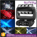 H31 Channels Sound Control Stage 16Pcs 25W 360 Roller Widely Super Sharpy Beam Moving Head Light