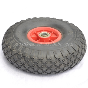 Flat Free Durable Small Go-Kart Wheels And Tyres