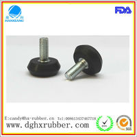 Anti-skidding/rubber feet/rubber pad/rubber screw for running machine/table/ladder/chair/furniture/ship