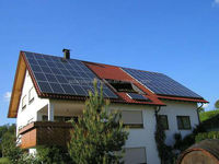 5kw residential grid-tie solar power system / 10kw home solar power system / Off-grid home solar power system