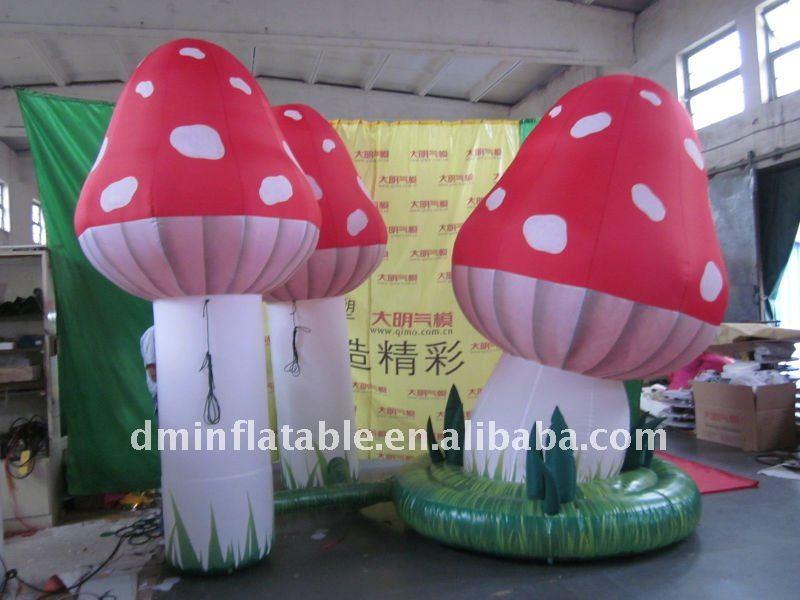 Aufblasbare pilze der dekoration blumen girlanden produkt id 496107077 - Dekoration pilze ...