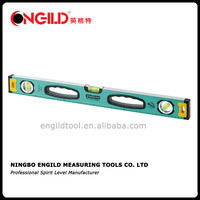 aluminium magnetic spirit track level bar