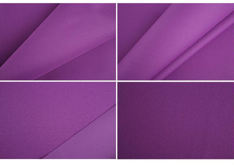 No twisting 100% Polyester 600 denier terylene oxford fabric from Hangzhou factory