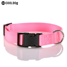 Nylon dog collar pet supplies high end low price pet collar
