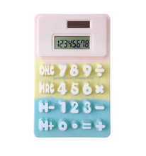 Silicone Calculator gradient colour new arrival