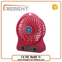 Top selling products 2015 Rechargeable Fan with battery leds lights