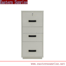 Office Furniture 3 Drawer Vertical Fireproof File Cabinet