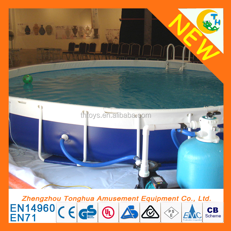 Outdoor playground swimming pool, national standard frame swimming pool for sale