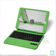 Ultra Thin Leather Case with ABS blutooth Keyboard for iPad Air for ipad 5
