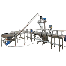 Auger filler can filling machine Powder packing machine