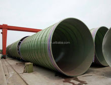 GRP/FRP sewage conduit coating pipe