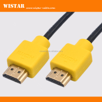 ultra slim design support 1080p 4k ethernet 3D HDMI cable for HDT TV