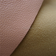 In stock pu/pvc synthetic leather for shoes faux leather