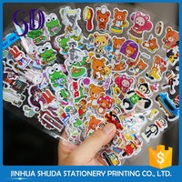 Custom Picture Design Different Shape Factory Price 3D Sticker