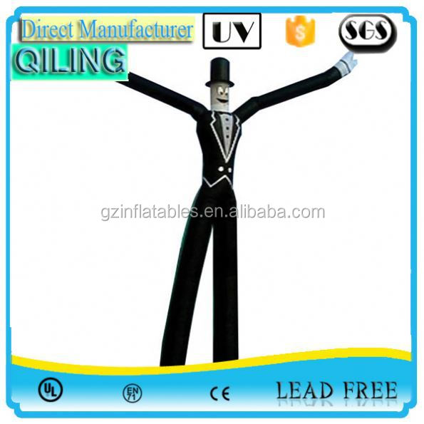 Newest Design movable top level pvc sky dancer inflatable for sale