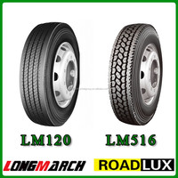 Longmarch Doubleroad China Commercial Tyre Truck Prices 11R22.5 295 / 80 R22.5 Truck Tire