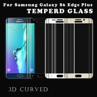 Low price 9H 3d curved ultral thin anti-scratch protective film Tempered Glass Screen Protector for Samsung Galaxy S6 edge Plus