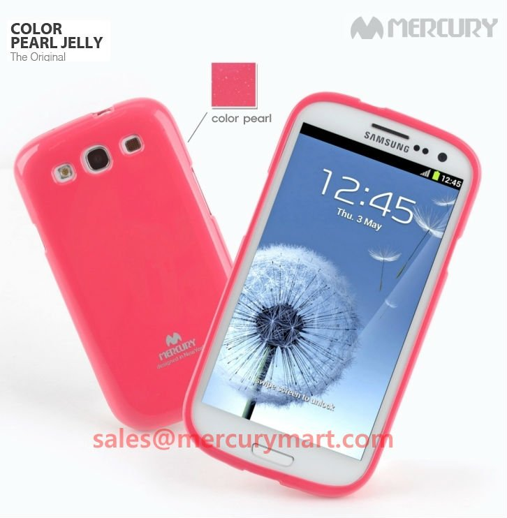 Genuine Mercury Jelly Case for Galaxy iPhone6, Note4