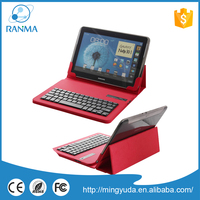 Detachable Removable universal ultra thin silicon bluetooth keyboard case