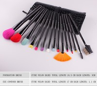 Z'OREYA Stock Wholesale 15pcs Animal Hair Makeup Brush Kit