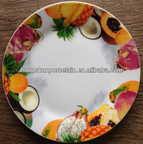 fruit design porcelain dishes and plates