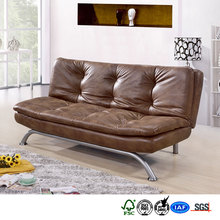 living room furniture genuine leather sofa cum bed with low price