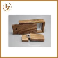 Bulk Wooden USB Flash Drive 1GB 2GB 4GB 8GB USB 2.0 for Gift with Custom Logo
