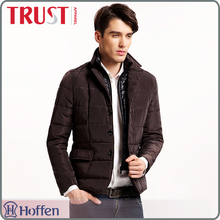 wholesale padded two pieces lapel winter jackets for <strong>men</strong>