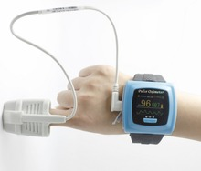 Color OLED Display Wrist Pulse Oximeter, SPO2, Pulse Rate, Blood Oxygen Monitor