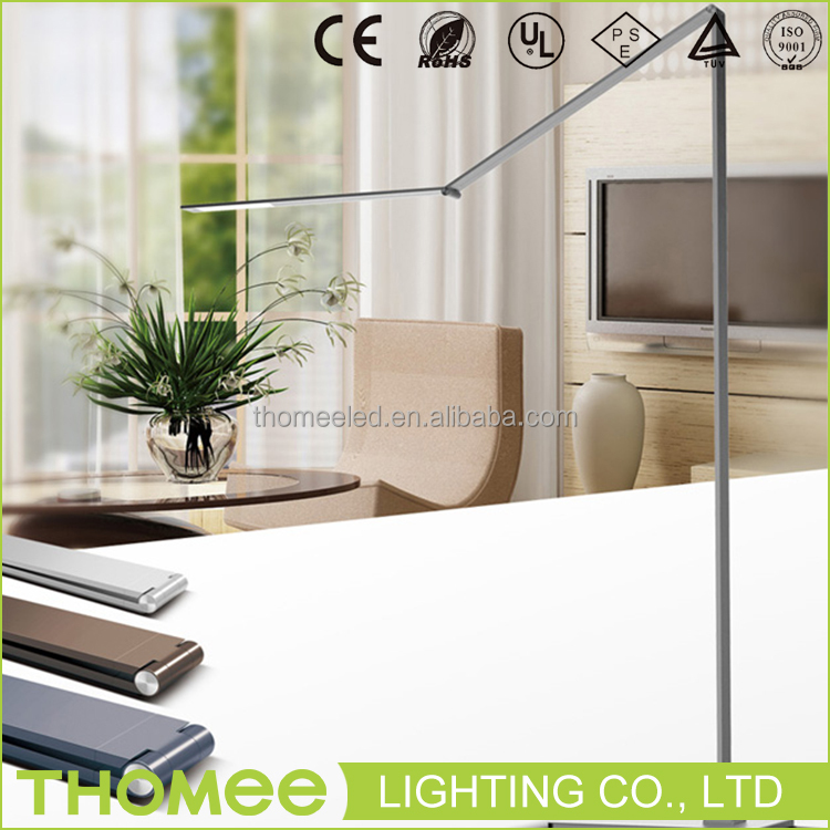 Excellent quality 490lm 10W modern led lamp touch sensor dimmable fancy metal floor lamp for home