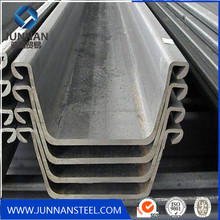 hot rolled steel concrete sheet pile with high quality