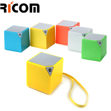 2018 Fashion professional audio small mini wireless Blue tooth square speaker high quality