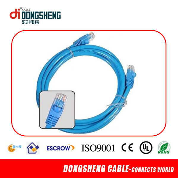 South amarica quality RJ45 UTP Cat6 patch cord cable