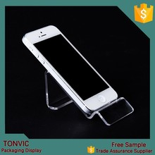 High quality acrylic for apple mobile phone display stand rack for sale
