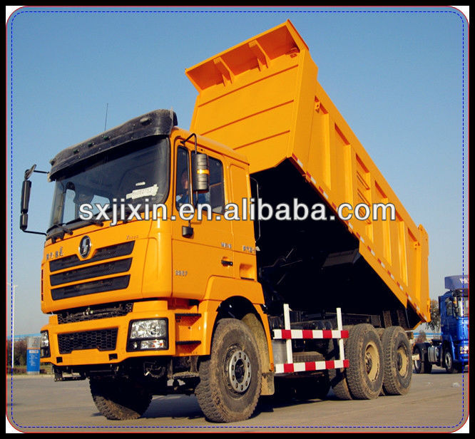 Exporting SHACMAN euro 3 standard heavy truck