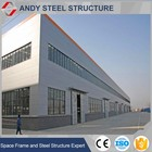 Brand new technology span steel structure warehouse/workshop building