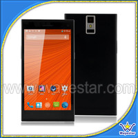 Cheap big screen smartphone Quad core dual sim 2 camera smartphone made in China