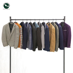 Hot selling suit in bales sorted adult used winter clothing/used clothes for sale